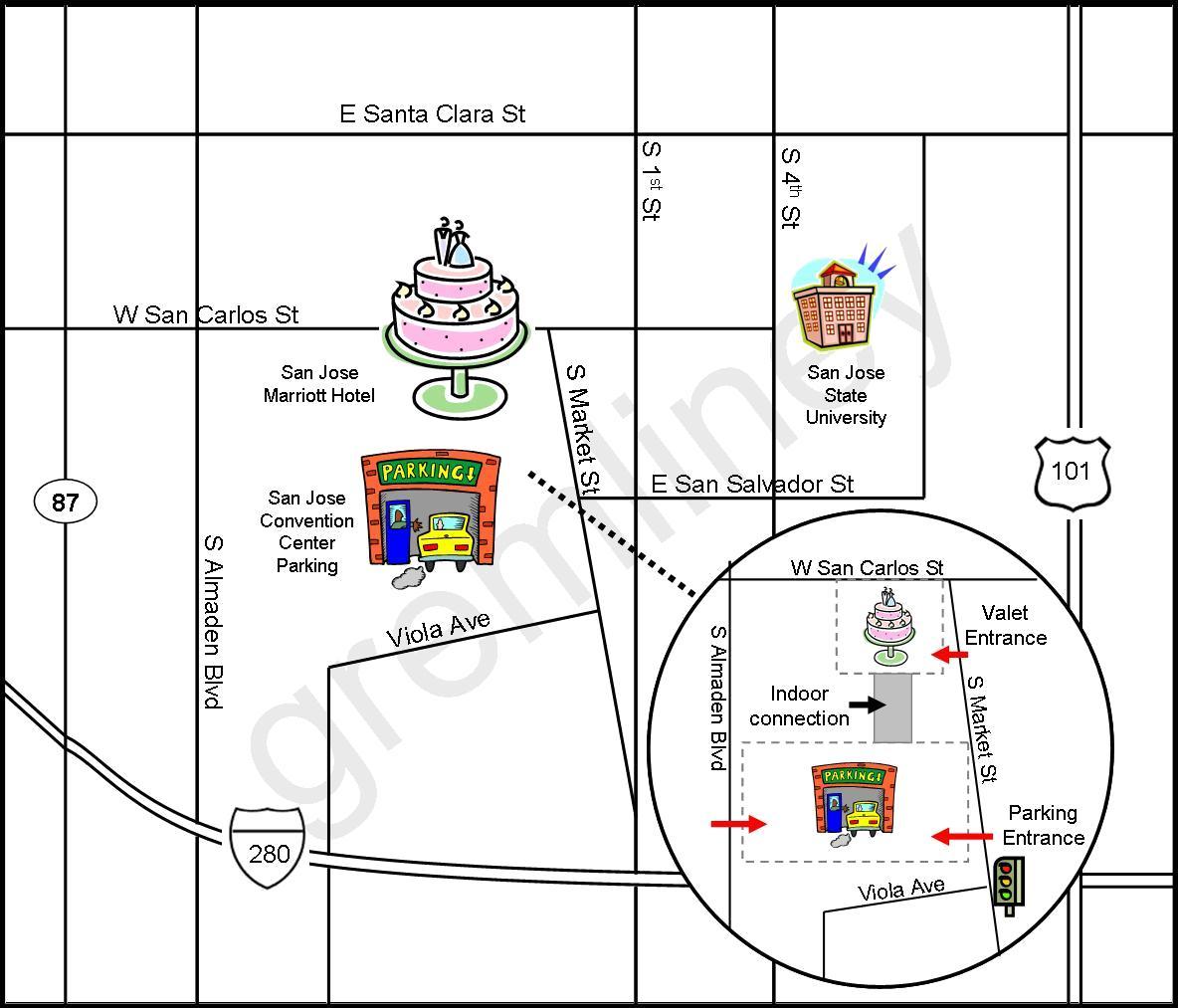 DIY Wedding Maps {My Rock, Paper, Scissors Tutorial