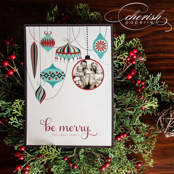 Cherish Paperie 2012 Holiday Card Collection