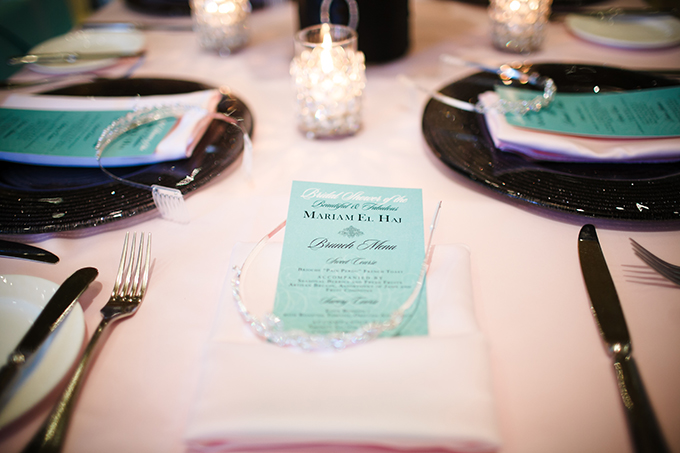 Tiffany Themed Bridal Shower