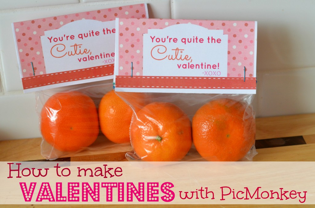 How to Make Valentines with PicMonkey