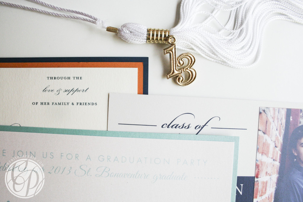 all Graduation Announcements 2013 Cherish Paperie