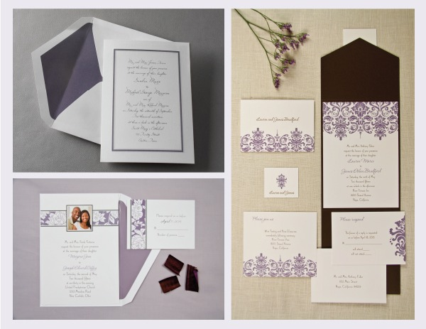 be inspired: passion invitations from birchcraft studios - cherish, Wedding invitations