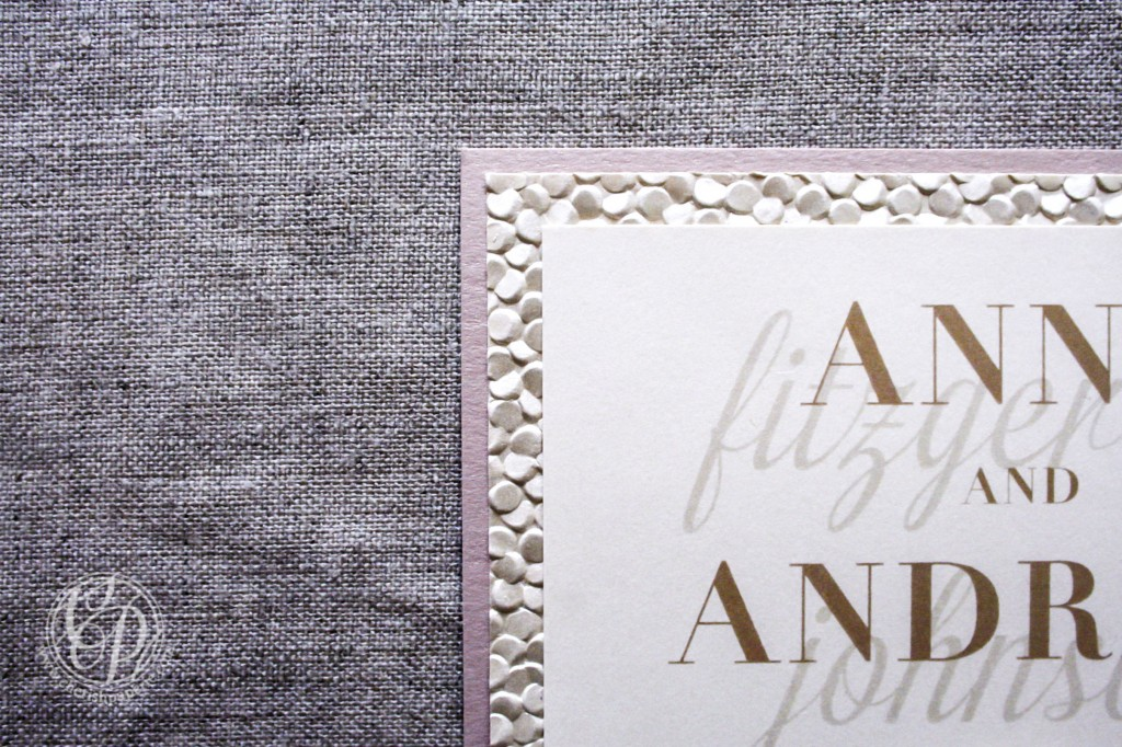 How to Make Your Invitation Stand Out font
