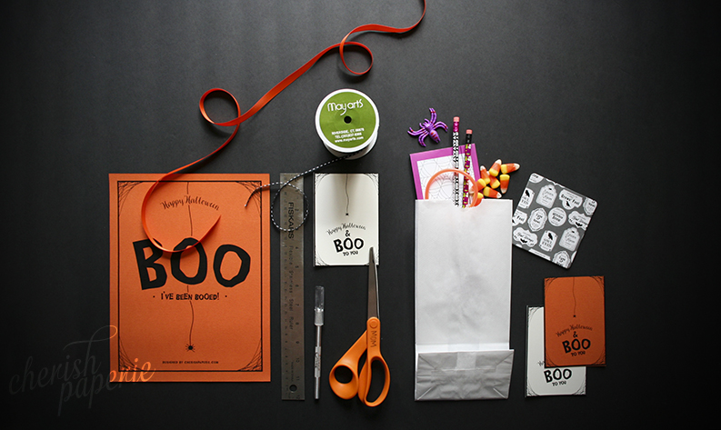 diy halloween crafts boo bags - Diy Halloween Crafts